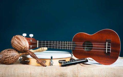 Instruments musique pour le sound design